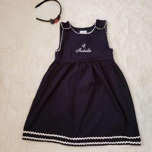 Personalized ISABELLA nautical Dress